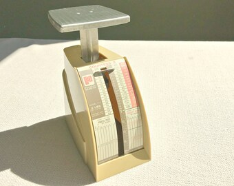 1970's Postal Letter Scale Pelouze Scale Model P2 Countess Vintage Office Accessory or Office Decoration Measures up to 2lbs Made in USA