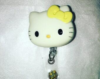 Hello Kitty Id Badge