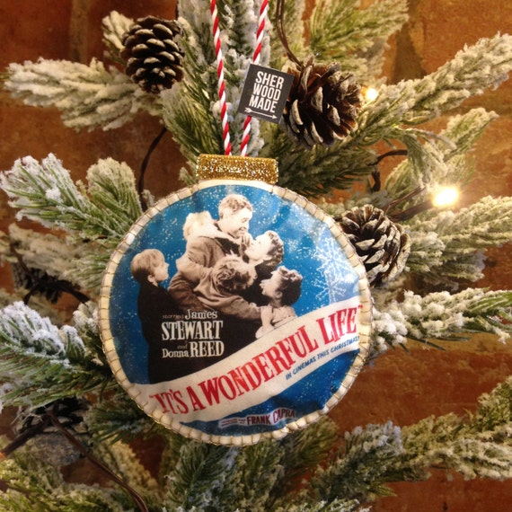 It 39 s a wonderful life christmas tree decoration unique Unique christmas decorations uk