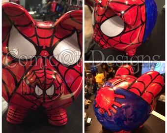 SPIDERHAM- piggybank - made to order