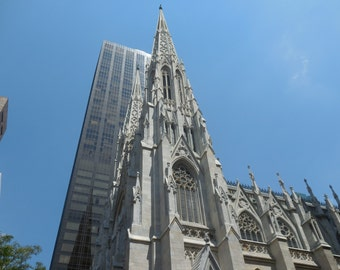 Digital Photograph of St. Patrick's Cathedral