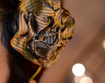Sunshine Puff Patterned Flower Headband