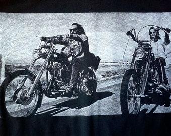 Easy Rider T-shirt: Men's & Ladies, S-3XL