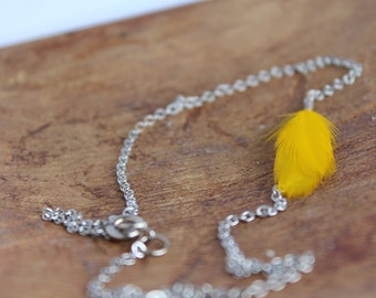 Canary Short Chain Necklace