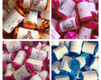 Personalised Christening Candy Sweets