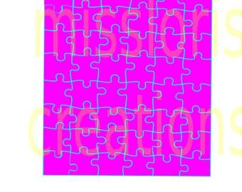 Puzzle SVG   cut file  t-shirts puzzle