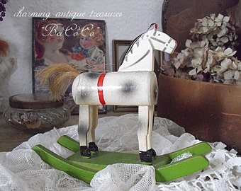Charming, antique rocking horse
