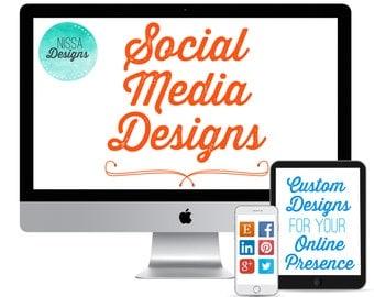 Social Media Designs - Customize your online presence
