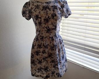 Floral Hand Made Dress