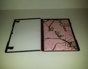 Travel Coloring Case (Pink Camo)