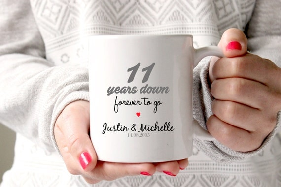 11th year wedding anniversary gift ideas