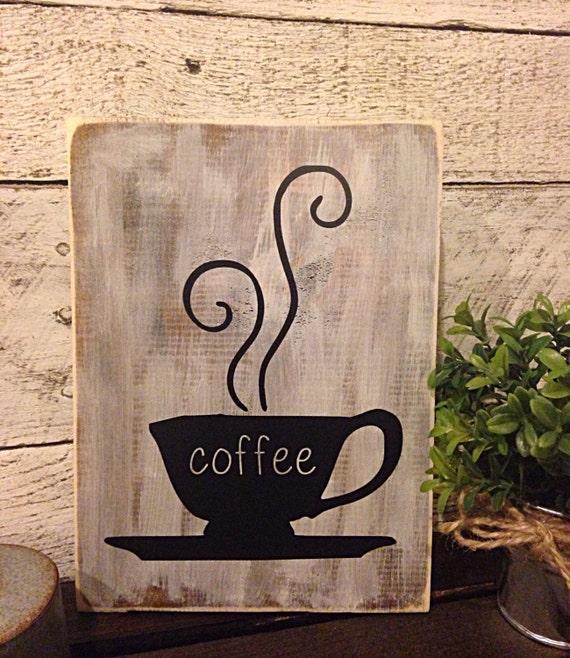 Kitchen Coffee Signs