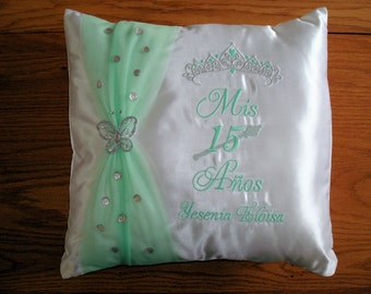 PERSONALIZED Quinceanera -  pillow 16 inch x 16 inch