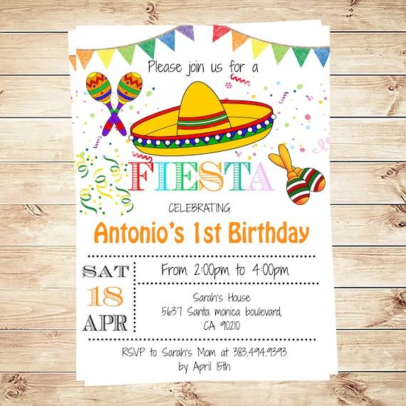Mexican Fiesta Invitations was good invitation ideas