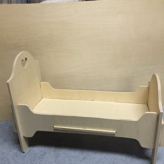 Wood 18 Inch Doll Bedwood 18 39 Doll Puzzle Bed Wood