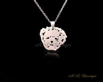 Lhasa Apso Necklace, Lhasa Apso Pendant, Lhasa Apso, Lhasa Apso Dog, Lhasa Apso Art, Lhasa Apso Jewelry, Dogs Necklaces, Dogs Pendant