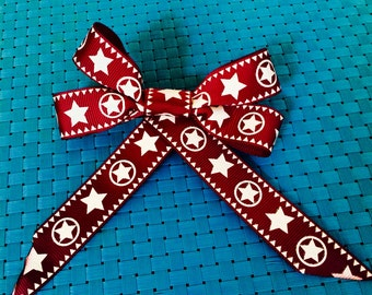 Holiday hair bow