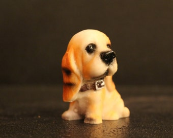 Mini Puppy Figurine #7 - 2""