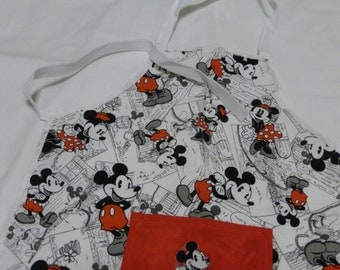 Disney's Mickey and Minnie Children's Apron with/without Accessories