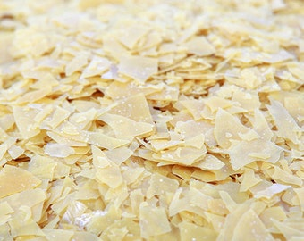 Organic Carnauba Wax Flakes | Vegan Wax | 4 ounces (113 grams)