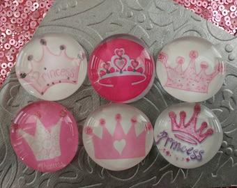 Princess tiara magnets
