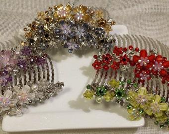 flower combs