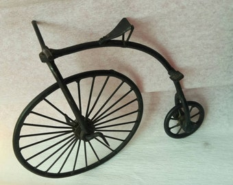 Vintage High Wheel Bike Bicycle Bone Shaker Toy