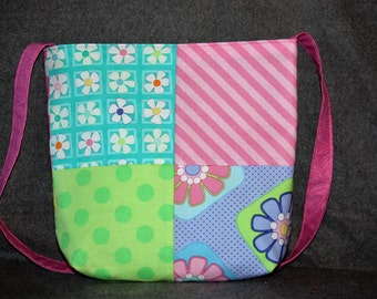 Small Patchwork Purse (Brights)