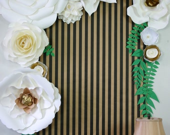Rustic / White paper flowers backdrop / Paper Flower Backdrop / Giant Paper Flowers Wall / Paper Flower Wall /