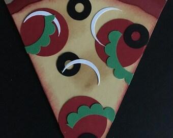 Slice of Pizza Card