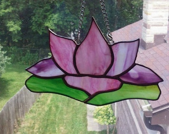 Water Lily Sun Catcher