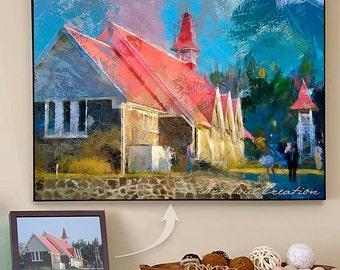 Unique Home Decor, Housewarming Gift, Wall Art Home Decor, Wall Hanging, Wall Art Painting, Gift Idea, Unique Gift, Custom Home Art