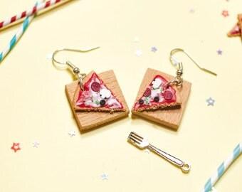 Pizza Earrings (pair)