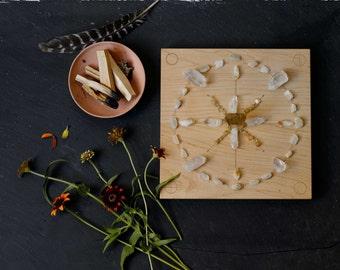 Crystal Grid Board   Meditation Board   Reiki Board