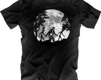 Alien Sasquatch Shirt