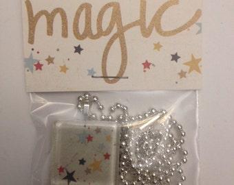 Star necklace pendant Magic