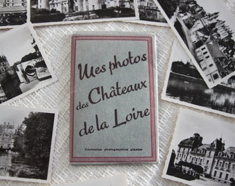 Vintage Valley book pictures flea market des Châteaux de la Loire 1970 collectibles argentique France