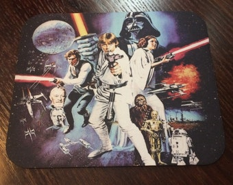 "Star Wars ""Retro Style"" Mousepad"