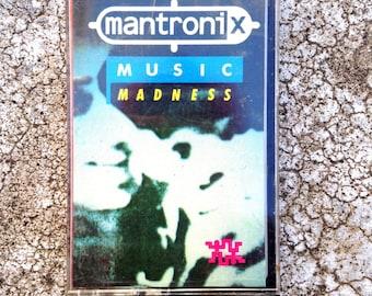 Mantronix- Music Madness- RARE hip hop Cassette Tape 1986