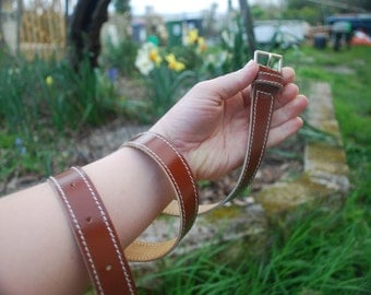 Belts made of leather for child