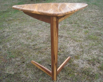 Corner Cantilever Triangle Table side table sofa table hall table