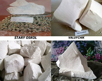 Chalk natural,chalk for food, 8 different types. 800gr. 10 different types.Samples free.