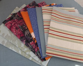 Fat Quarter Bundle - Fat Quarters, Fat Quarter Lot, Fat Quarter Fabric, Mixed Fat Quarters, Fat Quarters Fabric Bundle