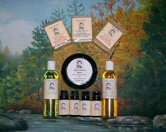 4oz  Bath/Massage oils