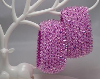 Capricho bracelet, ballroom dance jewelry, set of two