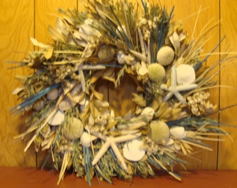 Wish you were at the beach wreath!!