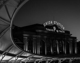 Denver Colorado Union Station; Travel by Train