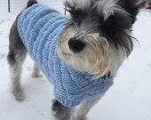 Weave Dog Sweater Pattern