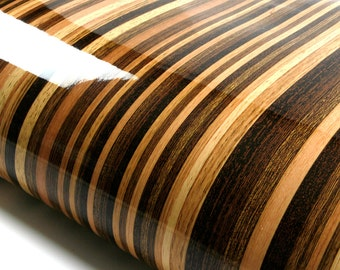 Wood contact paper etsy for Removable wallpaper wood paneling
