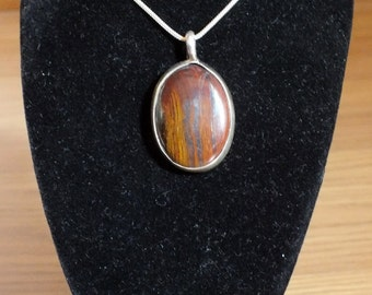 Tiger eye's silver sterling jewels